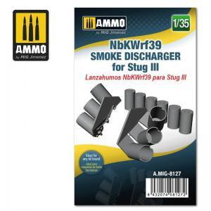 Ammo Mig Jimenez NbKWrf39 Smoke Discharger for StuG III