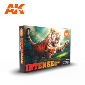 AK Interactive INTENSE COLORS SET