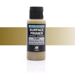 Vallejo Primer, German Green Brown, 60 ml
