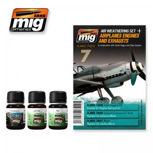 Ammo Mig Jimenez Airplanes Engines and Exhausts