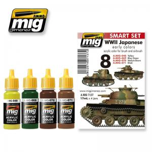 Ammo Mig Jimenez WWII Japanese AFV Early Colors