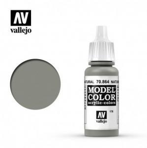 Vallejo Model Color 178 - Natural Steel