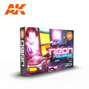 AK Interactive NEON COLORS SET
