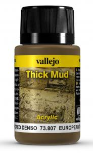 Vallejo European Thick Mud 40 ml