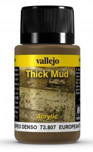 Vallejo European Thick Mud 40 ml