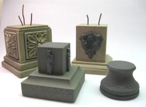 Reality in Scale Pedestal Set - 4 resin pcs.