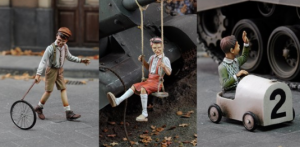 Royal Model Children playing