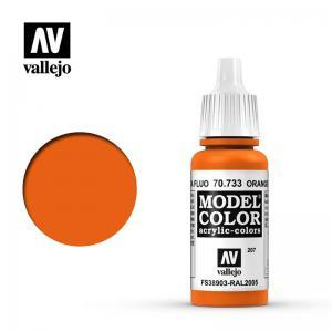 Vallejo Model Color 207 - Orange Flou.