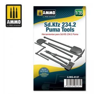 Ammo Mig Jimenez Sd.Kfz 234.2 Puma Tools