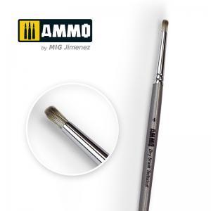 Ammo Mig Jimenez 4 AMMO Drybrush Technical Brush