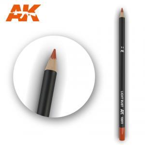 AK Interactive Watercolor Pencil Light Rust