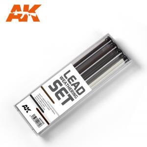 AK Interactive LEAD WEATHERING SET