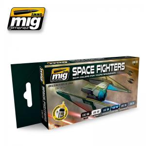 Ammo Mig Jimenez Space Fighters SCI-FI Colors