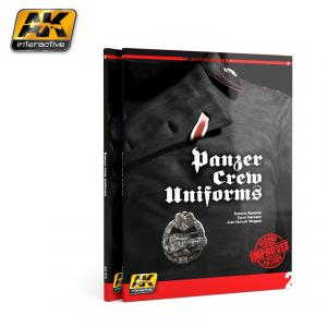 AK Interactive PANZER CREW UNIFORMS (AK LEARNING SERIES Nº2) English