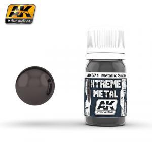 AK Interactive XTREME METAL SMOKE METALLIC