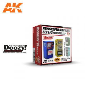 Doozy Modelworks NEWSPAPER MACHINE SETS 3