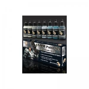 Scale75 NMM Paint set (Non Metallic Metal)