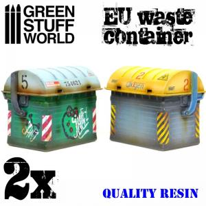 Green Stuff World EU Waste Container (2 pcs)