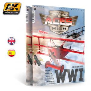 AK Interactive Issue 2. A.H. WWI PLANES English
