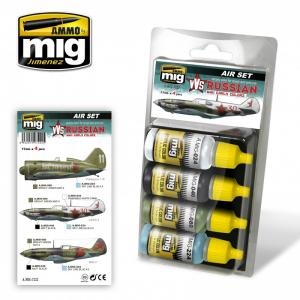 Ammo Mig Jimenez VVS WWII Russian Early Aircraft