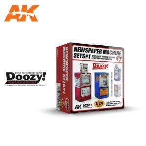 Doozy Modelworks NEWSPAPER MACHINE SETS 1