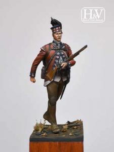Heroes & Villains 42nd Regiment of Foot 1782 Grenadier 54mm