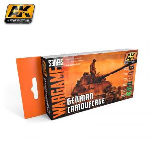AK Interactive GERMAN CAMOUFLAGE COLORS SET