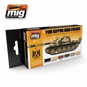 Ammo Mig Jimenez Yom Kippur War Colors