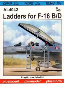 Plus Model Ladders for F-16B/D