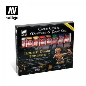 Vallejo Game Color - Ironfist Dwarf Berserker