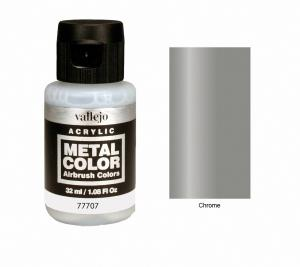 Vallejo Metal Color, Chrome, 32ml.