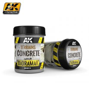 AK Interactive TERRAINS CONCRETE - 250ml (Acrylic)