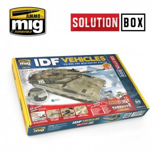 Ammo Mig Jimenez IDF VEHICLES SOLUTION BOX