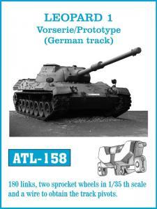"Friulmodel Leopard 1 ""Vorserie/Prototype"" - Track Links"