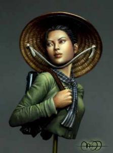 Heroes & Villains Viet Cong Guerrilla Fighter 1/12