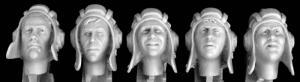 Hornet Models 5 heads, Soviet postwar AFV helmet