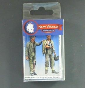 New World Miniatures US Army Wounded Tankers 2 figures