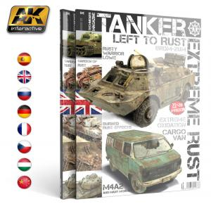 "AK Interactive TANKER 01 ""EXTREME RUST"" - English"