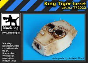 Black Dog King Tiger - Turret (DRA)