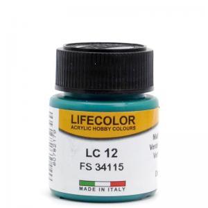 LifeColor dark green - 22ml