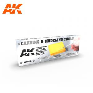 AK Interactive CARVING TOOLS BOX