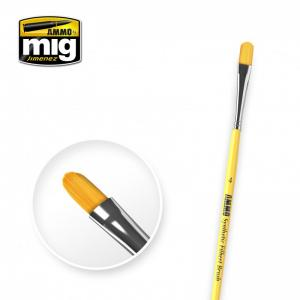 Ammo Mig Jimenez 4 Synthetic Filbert Brush