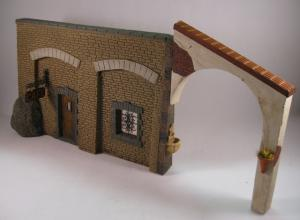 "Reality in Scale ""Under The Arches"" - 6 resin pcs. incl. laser cut parts, window sheet, meta"
