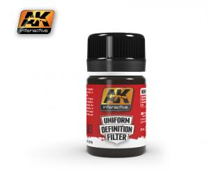 AK Interactive DARK BROWN GLAZE 35 ml