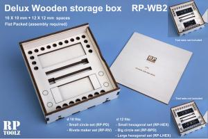 RP Toolz Deluxe Wooden Storage Box for RPT-PD/RV/HEX/BPD/LHEX