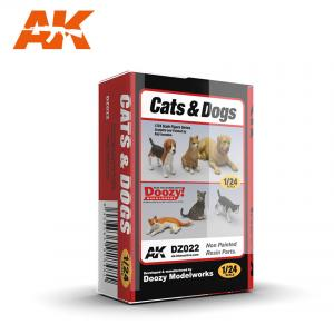 Doozy Modelworks CATS AND DOG