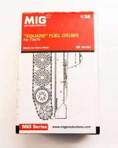 "MIG Productions ""SQUARE"" FUEL DRUMS"