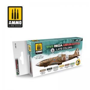 Ammo Mig Jimenez WWII Regia Aeronautica – Late Colors Set