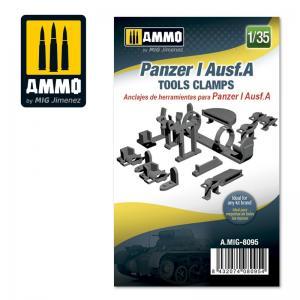 Ammo Mig Jimenez Pz.Kpfw. I Ausf. A - Tools Clamps