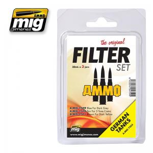 Ammo Mig Jimenez Filter Set For German Tanks